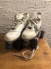 White Sure Grip & Riedell Aerobiskate Rollerskates Roller Skates M 9 W 8