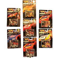 Set of 7: Hot Wheels 1997 Edition Pro Racing, 1/64, Nascar: Rudd Waltrip Labonte