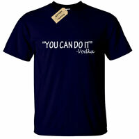 You can do it VODKA T Shirt Mens gift funny alcohol lovers drinking alcoholic
