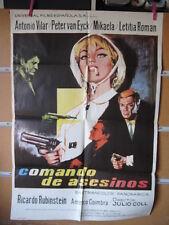 A4555 Comando de asesinos Antonio Vilar,  Leticia Román,  Peter van Eyck,  Améri