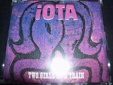Iota Two Girls On A Train Rare Australian Promo CD Single – Like New