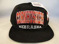 NCAA Nebraska Cornhuskers Vintage Snapback Hat Cap Drew Pearson
