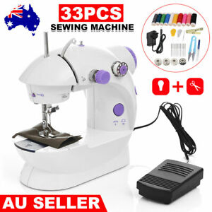Electric Hand Held Sewing Machine Clothes Desktop Mini Multi-Function Stitching