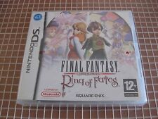 NDS FINAL FANTASY RING OF FATES PALUK NINTENDO DS NEW SEALED