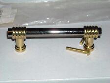 "6 six Amerock BP1964-BNB Black Nickel Solid Brass Pull 3-15/16"" center 3"" drawer"