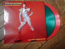 DAVID BOWIE Demanding billy dolls 2LP Live Boston 72 Vinyl couleur