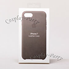 Genuine Original Apple Leather Snap Case For iPhone 7 / iPhone 8 - Storm Gray