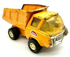 "Vintage Tonka Cab Over Dump Truck, Pressed Steel Toy 9"" for Restoration Project"