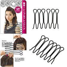 4PCs Fashion Korean-style Hair Bouffant Insert Clip Hair Stick  Bun Maker Hot