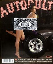 Autocult Magazine #1 issue Hot Rod Kustom Kulture pin up art Ed hardy tattoo