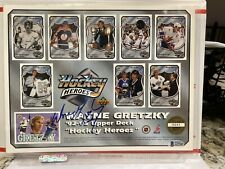 SIGNED AUTOGRAPHED LOS ANGELES KINGS BECKETT BAS WAYNE GRETZKY HOCKEY HEROES UD