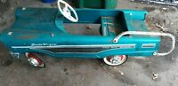 VINTAGE PEDAL CAR MURRAY DUDE WAGON BLUE PRE-1970 *LOCAL PICKUP ONLY *MN