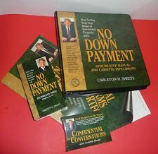 Carleton Sheets No Down Payment Step by Step Manual + Cassette Library + Extras