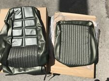 1970 Mustang Medium Ivy Green Upholstery Front Seat Cover  1 Front Seat