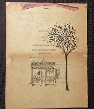RECETTES par Comtesse de Toulouse-Laurec  Maison Blanche Fete Francaise Souvenir