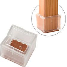 4Pcs Meuble Protection Pieds Chaise Carré Jambes Table Housse Protège Tableau NF