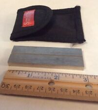 Smith's Hook And Blade Sharpening Steel In Belt Pouch 3�