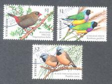 Australia-Finches of Australia set- fine.used cto-Birds-June 2018