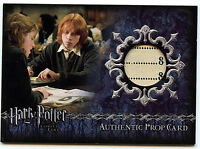 Harry Potter GOF Prop Card The Daily Prophet Ci3 Artbox Card #215/455 HP1