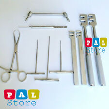 Orthopedic Veterinary Instrument set of 10 Pieces Surgical Instruments