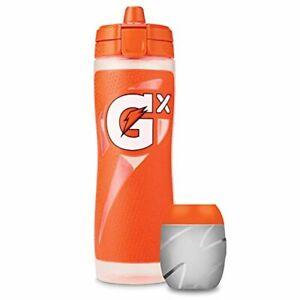 Gatorade Gx Bottle, Orange with Gx Pods, Glacier Freeze, Thirst Quencher Concent