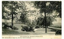 Piermont on Hudson River NY - FORT COMFORT INN RESORT GROUNDS- Postcard