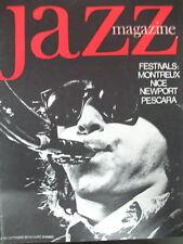 JAZZ MAGAZINE 192 FESTIVAL MONTREUX ALBERT AYLER GUY LAFITTE POP CORNER 1971