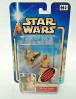 Star Wars Attack of the Clones Figure Obi-Wan Kenobi Coruscant Chase AOTC Hasbro