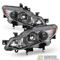 For [Halogen Model] 2009-2014 Murano Headlights Headlamps Replacement Left+Right