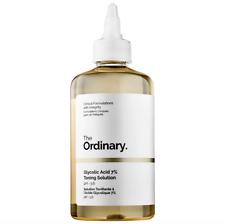 THE ORDINARY 240ml Glycolic Acid 7% Toning Solution facial toner skin care nib