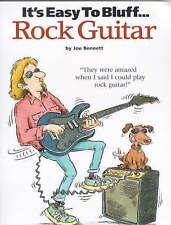 It's Easy To Bluff... Rock Guitar by Joe Bennet (Paperback, 2000)