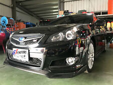 D STYLE CARBON FRONT LIP SPOILER FOR SUBARU LEGACY 5th BM9 SEDAN BR9 WAGON TURBO
