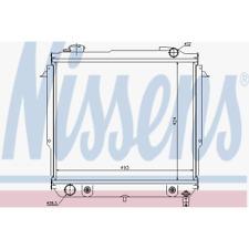 Kühler Motorkühlung - Nissens 60987