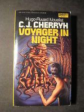 Voyager in Night by C. J. Cherryh (1984, Paperback) 1st Print DAW sf 573
