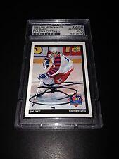 Joe Sakic Signed 1992-93 Upper Deck McDonalds Card PSA Slabbed #83476262