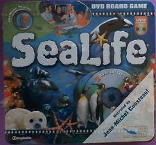 SeaLife Family Board Game New Sealed DVD in Metal Tin