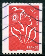 STAMP / TIMBRE FRANCE OBLITERE N° 3743  MARIANNE DE LAMOUCHE / ROULETTE / ITVF