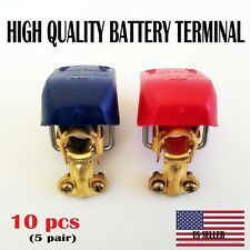 10 pc Car Boat RV Heavy Duty Quick Release Battery Terminal Clip Connector Clamp