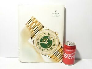 2006-2007 Rolex Oyster Catalogue Brochure Full Colour Photos + Master Pricelist