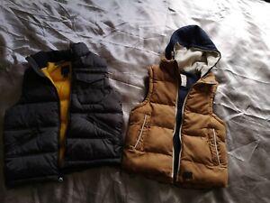 Gap & Rebel Boys  Gilets Vest Bodywarmer Waist Coats Age 5-7 Years