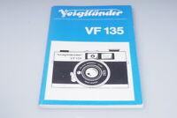Voigtländer VF135 Bedienungsanleitung Manual Multi Linguage / XF75