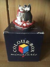 Peter Fagan Post Colour Box Cats Just Good Friends BOXED