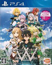 NEW PS4 SAO Sword Art Online Game Director's ed. w/ LIMITED BONUS DLC set JAPAN