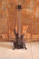 Spector Legend Classic 4 String Electric Bass EMG pickups Trans Black + HDSC