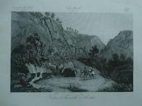 1845 Zuccagni-Orlandini Veduta di Fontebello in Sicilia