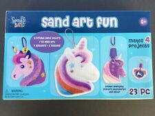 Sparkle Sand - Sand Art Fun - Makes 4 Projects - 23 piece - Age 6+