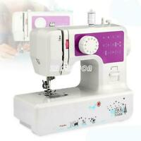 US Double Speed Sewing Machine Household Thread Crafting Mend Machine 12 Stitche