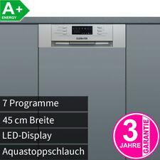 45 cm Teilintegrierbarer Geschirrspüler Geschirr Spülmaschine Spüler A+ NEU/OVP