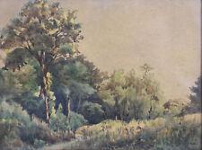 Alexis Eugène GUIGNÉ (1839-c.1920) Paysage Paris neuilly oise impressionnisme