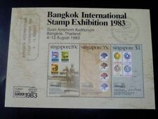 Singapore M/S Stamp  - 1983 BANGKOK INTERNATIONAL STAMP EXHIBITION